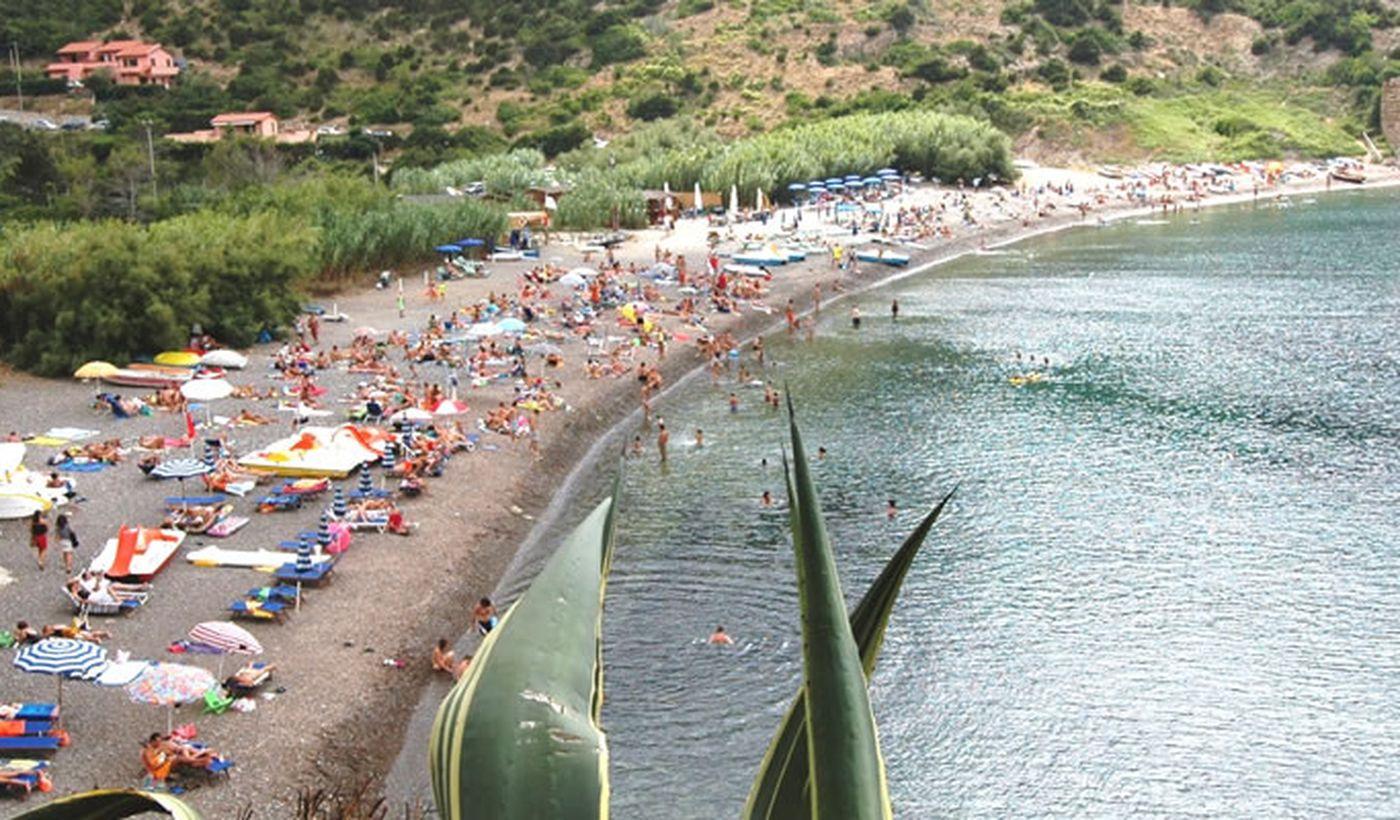 Spiaggia a Rio nell'Elba