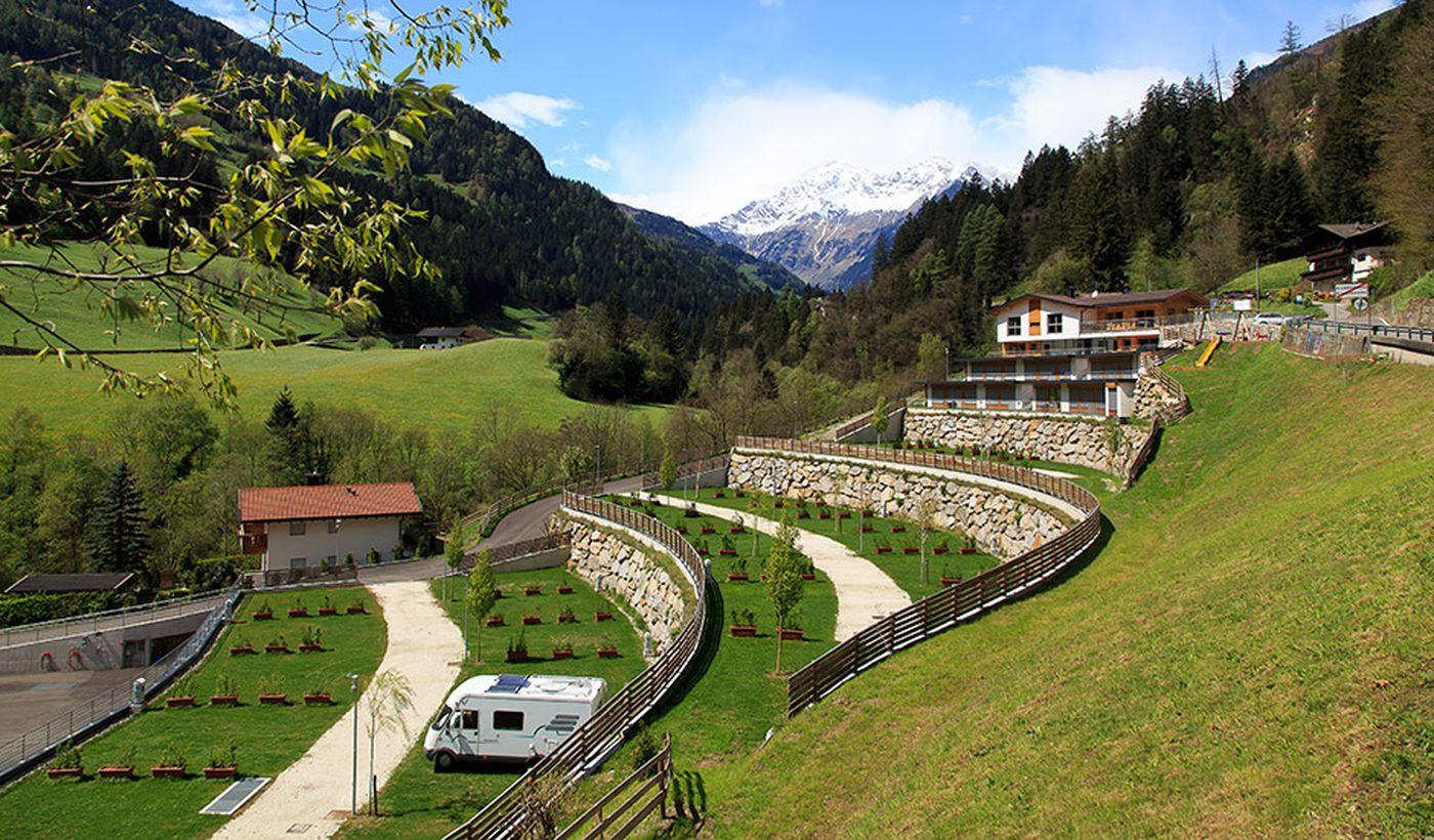 Camping Bungalow in San Leonardo in Passiria, Bozen