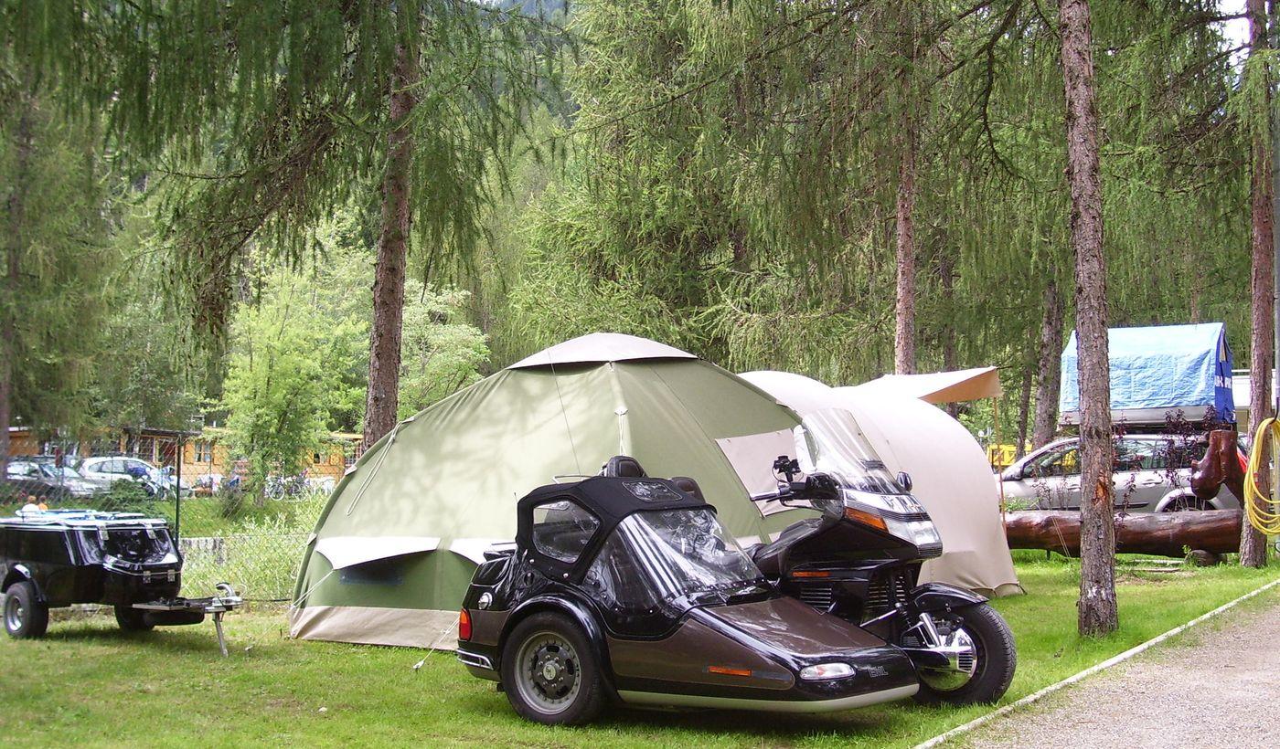Campeggio in provincia di Trento