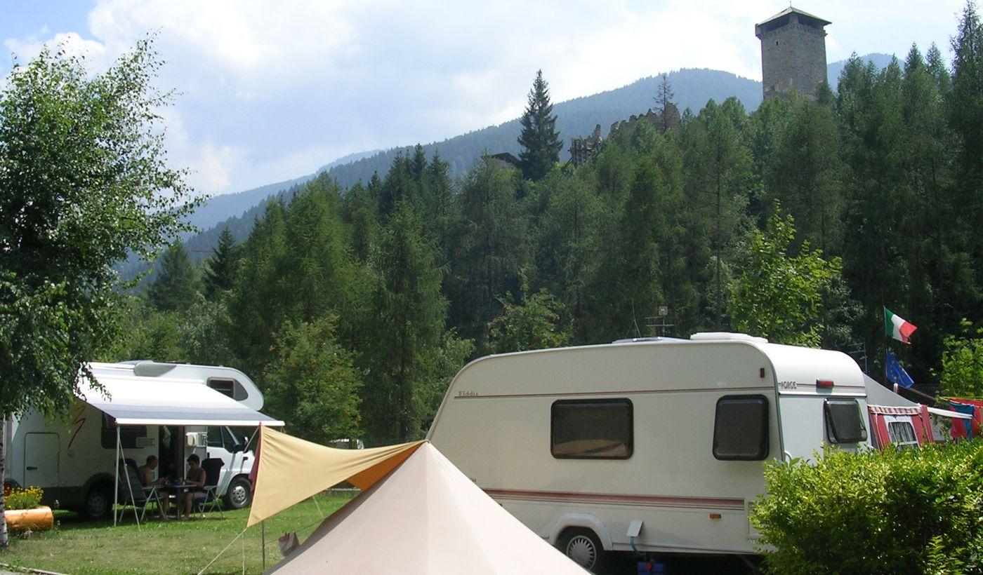 Campeggio a Fucine di Ossana