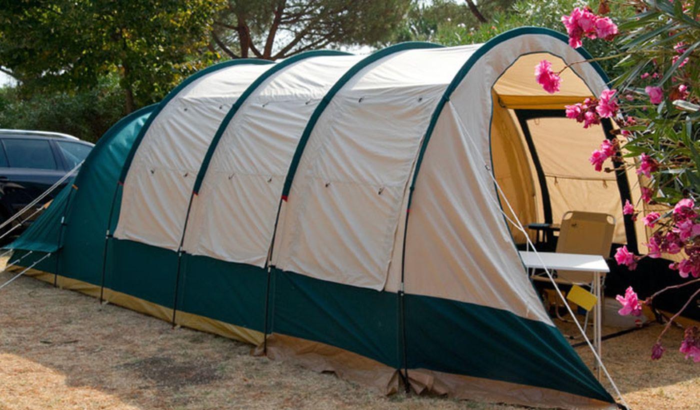 Campeggio nel Lazio