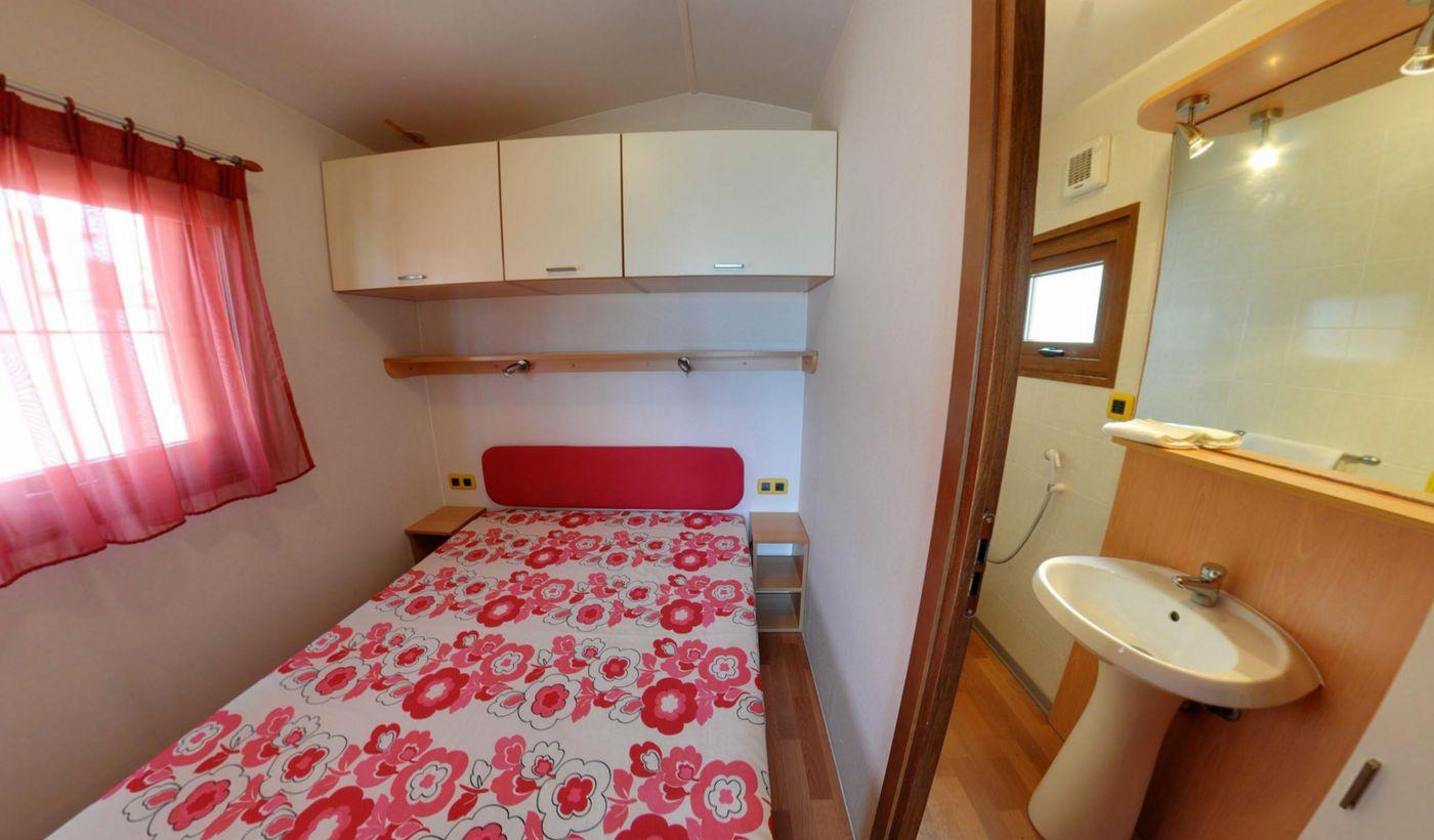 Camera da letto delle case mobili