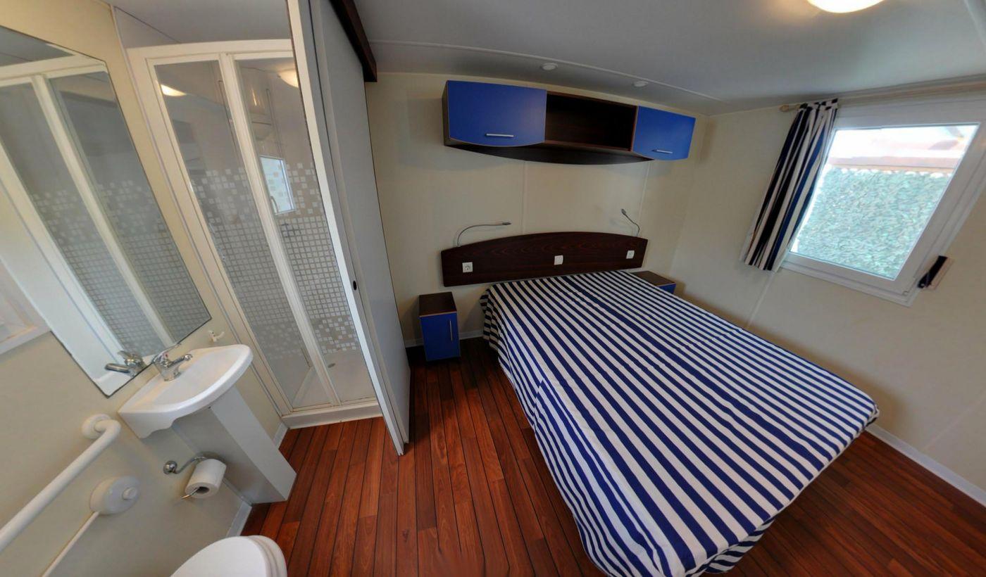 Casa mobile con bagno privato