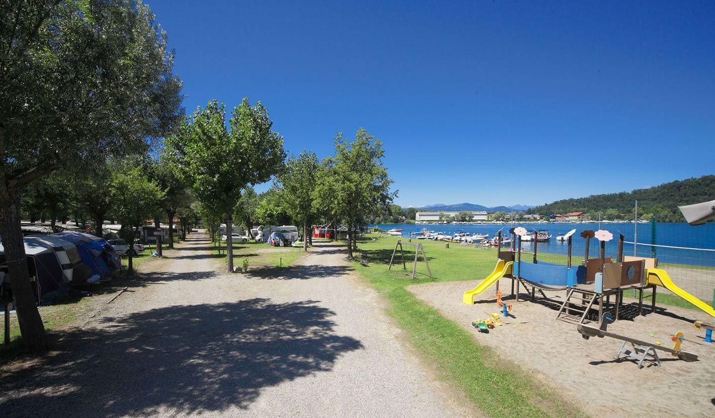 Campingplatz am Lago Maggiore