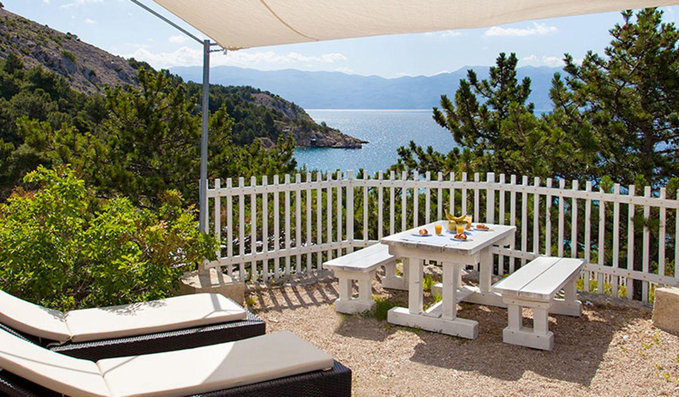 Casa mobile sul mare in Croazia