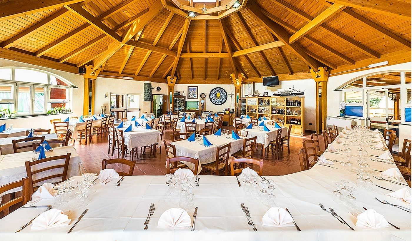 Camping Village con ristorante a Tarquinia, Lazio