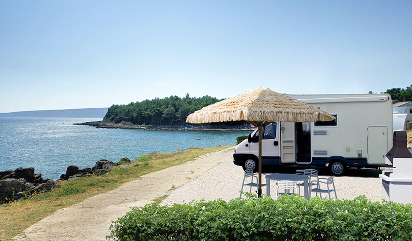 Piazzole per camper in Croazia