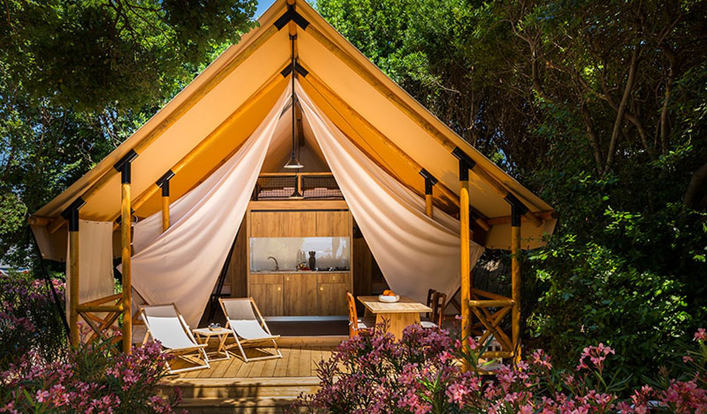 Glamping in Croazia