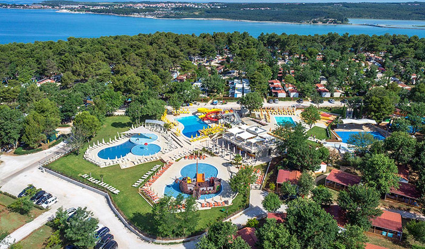Campeggio con Acqua Park in Croazia
