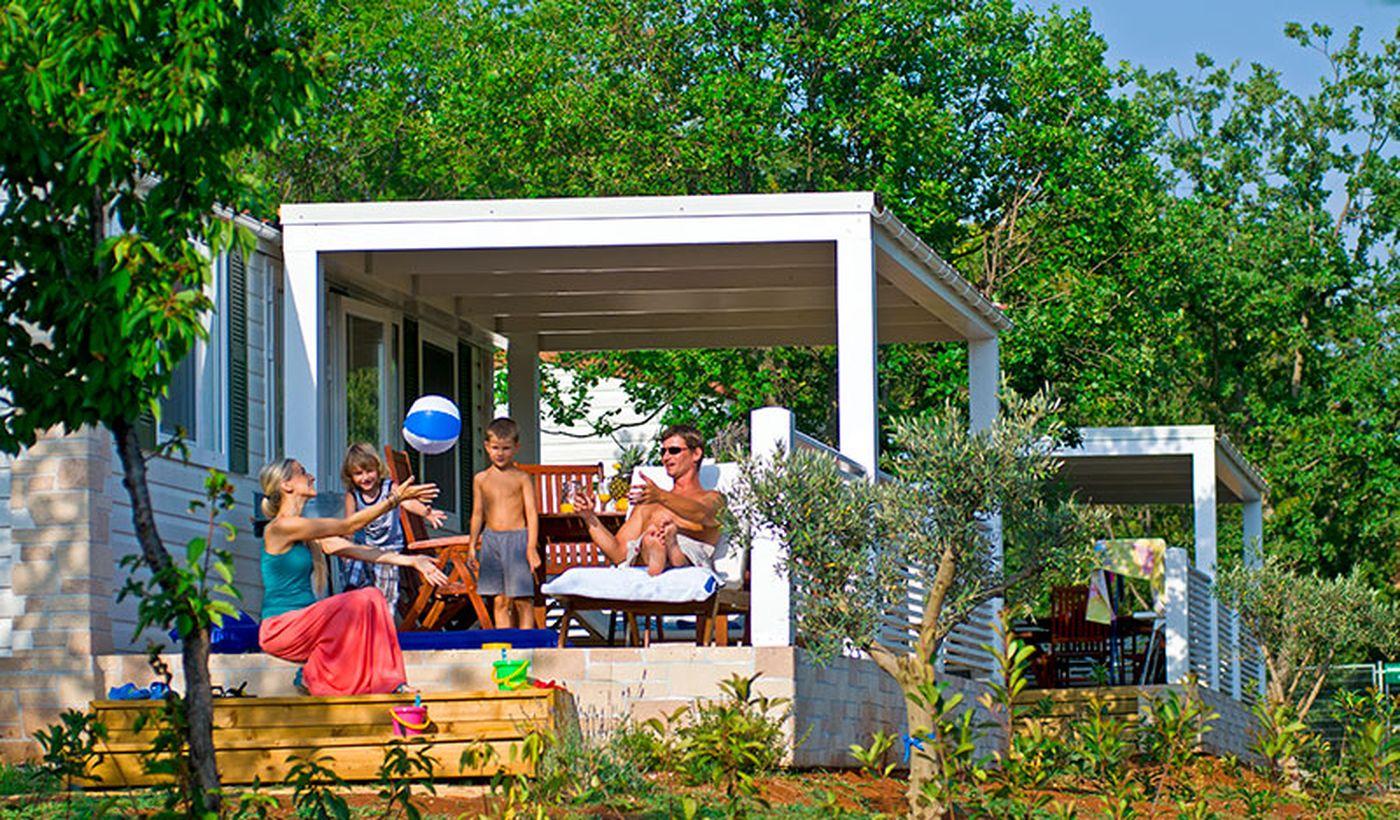 Campeggio per famiglie in Croazia