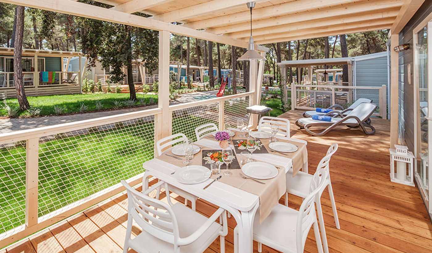Case mobili con veranda