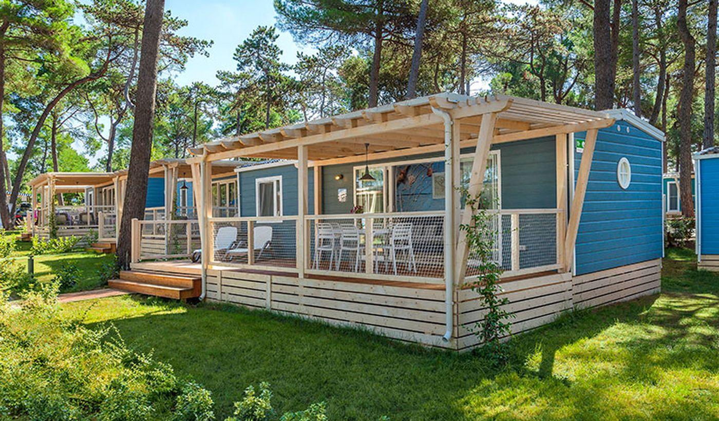 Camping con case mobili in Croazia