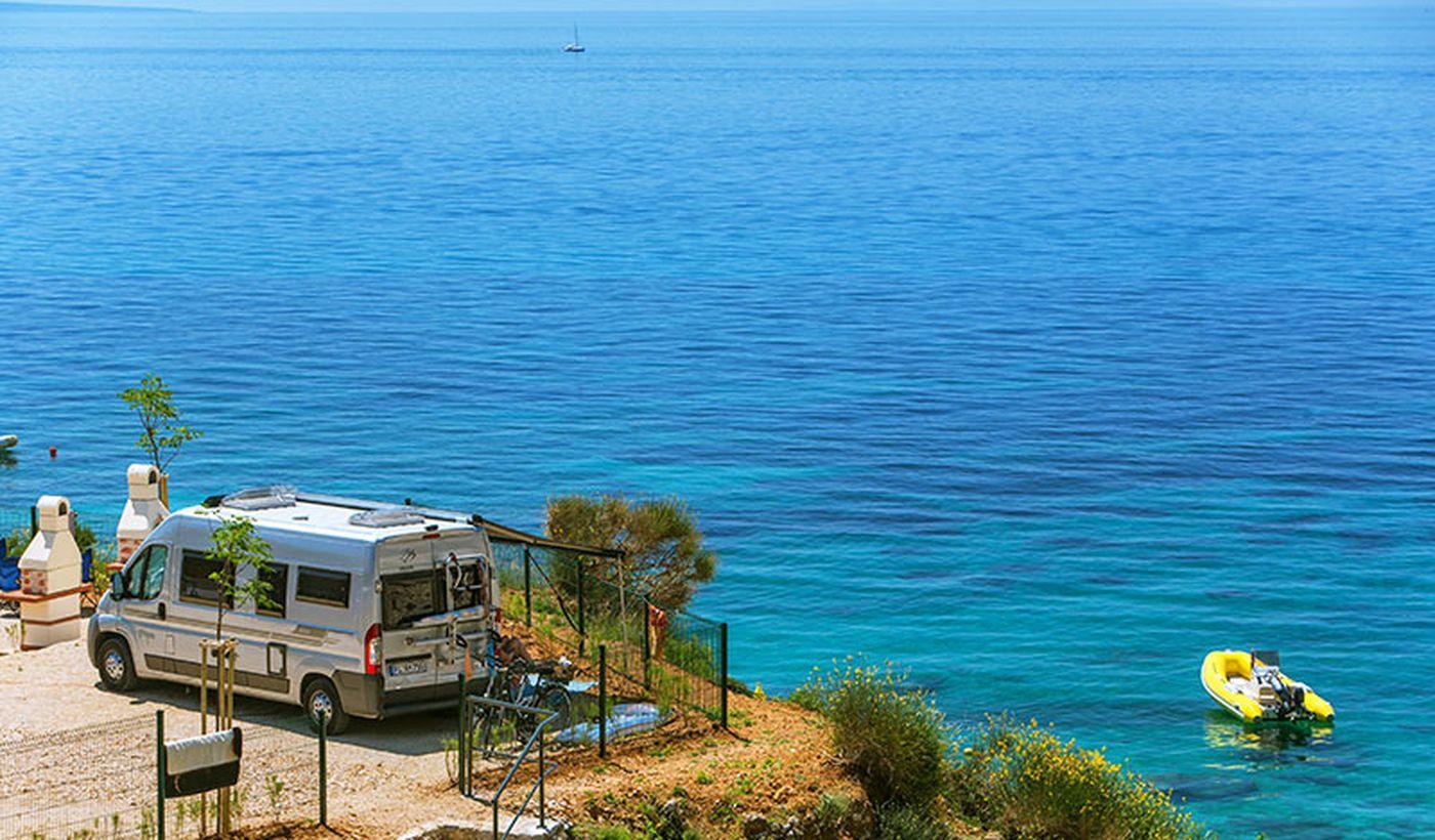 Campeggio sull'Isola di Krk