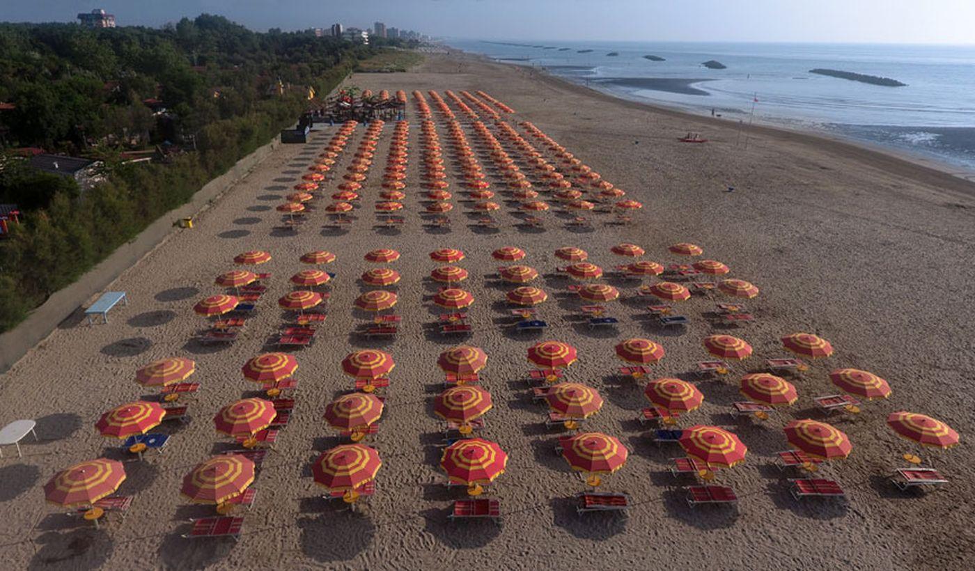 Spiaggia in Emilia Romagna