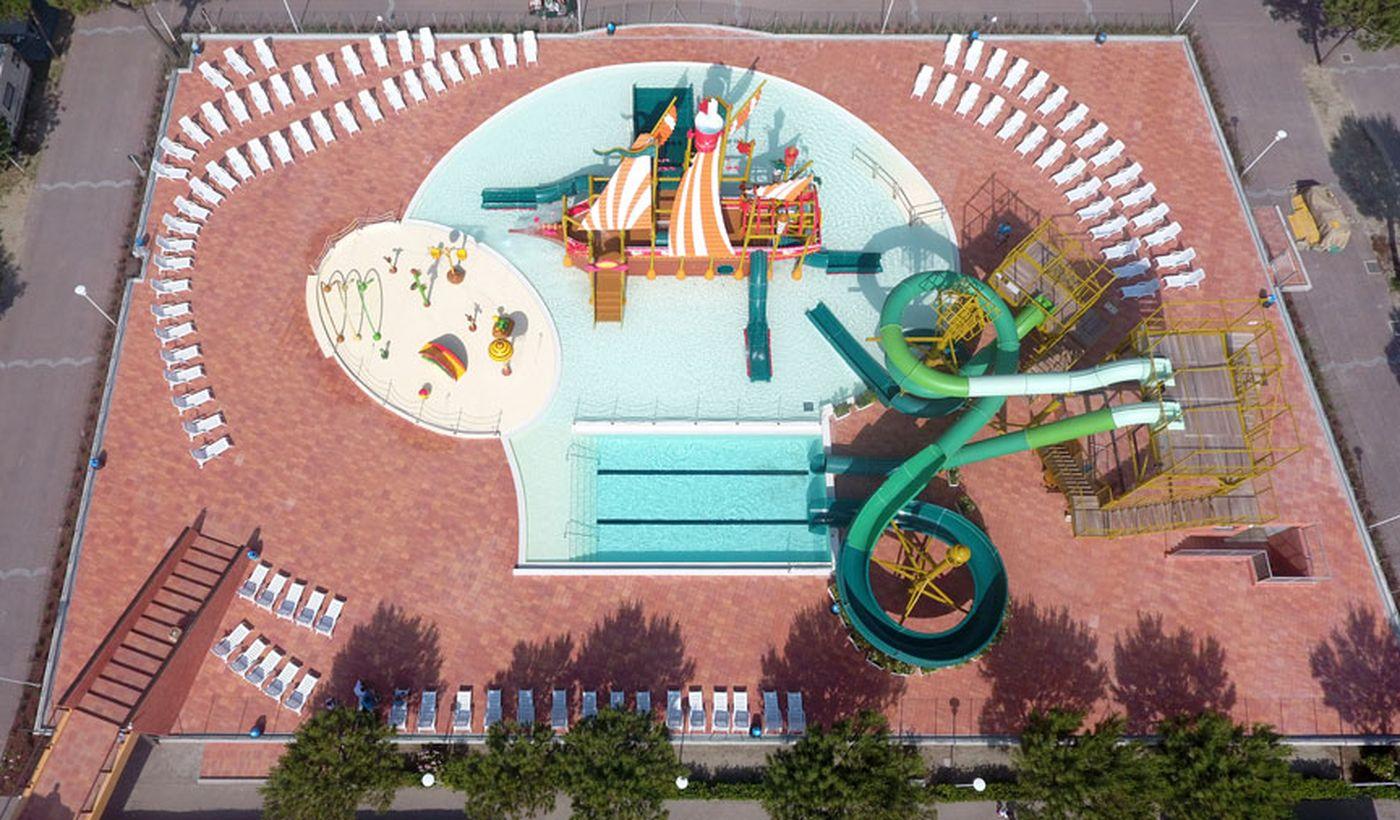 Campeggio con piscina per bambini, Comacchio