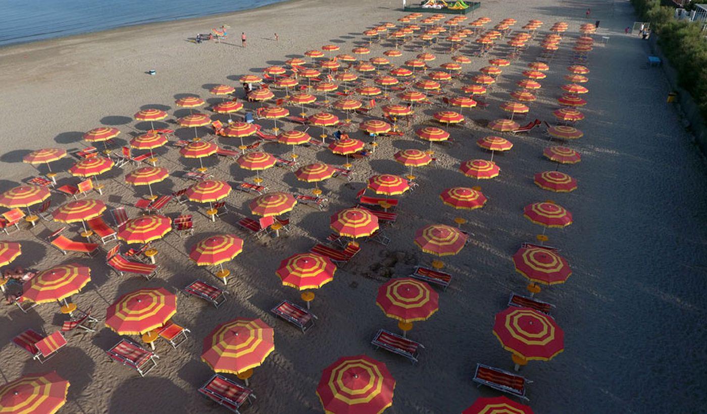 Spiaggia a Comacchio, Ferrara