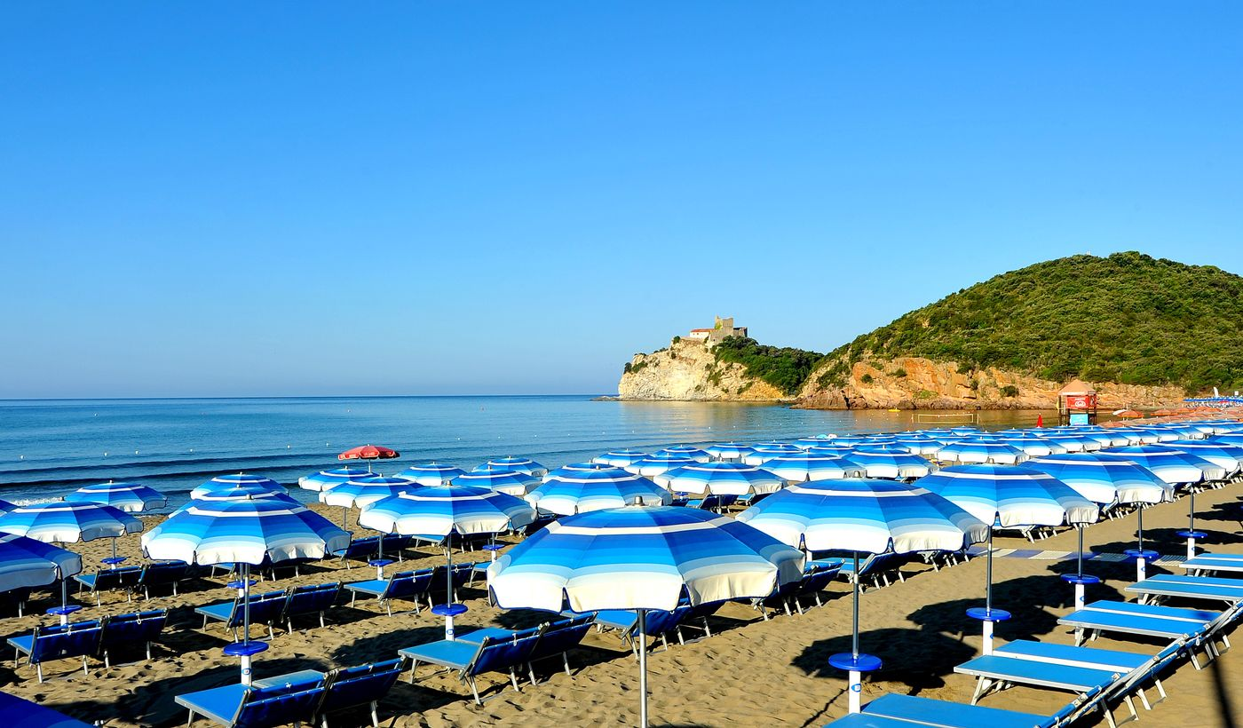 Spiaggia a Castiglione della Pescaia