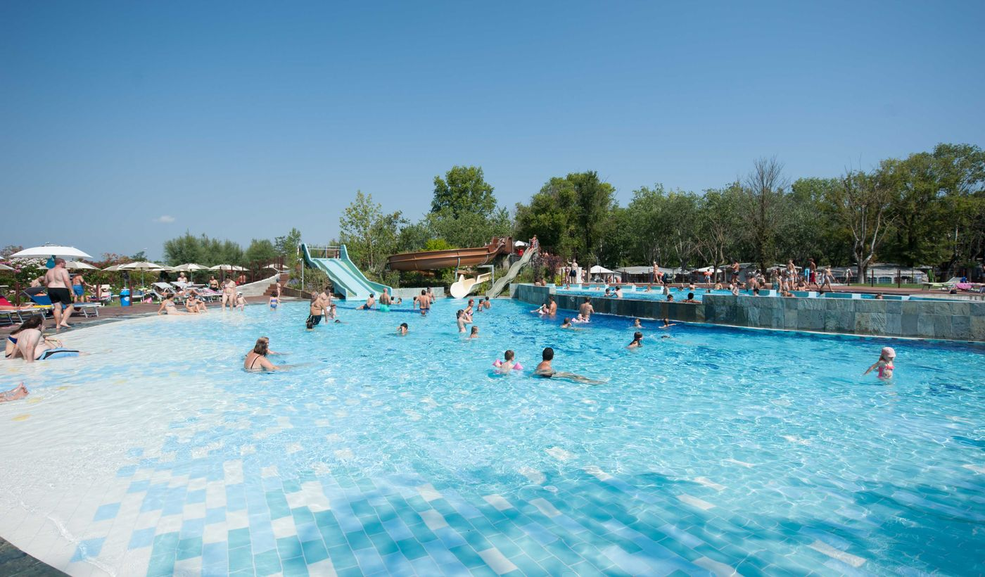 Camping mit Schwimmbad in Lido di Spina