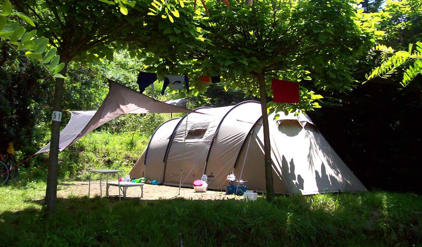 Campingplatz in Deiva Marina, Ligurien