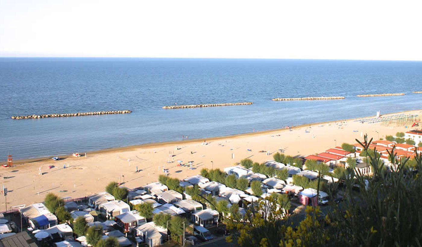 Camping al mare nelle Marche