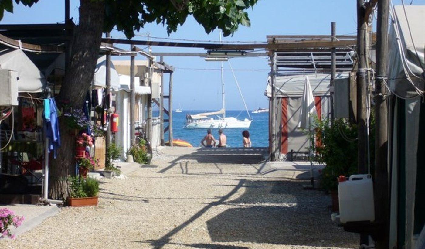 Camping ad Albenga, Liguria