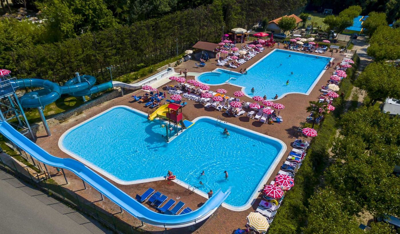 Camping Village with Aquatic Park in Lazise, Lake Garda