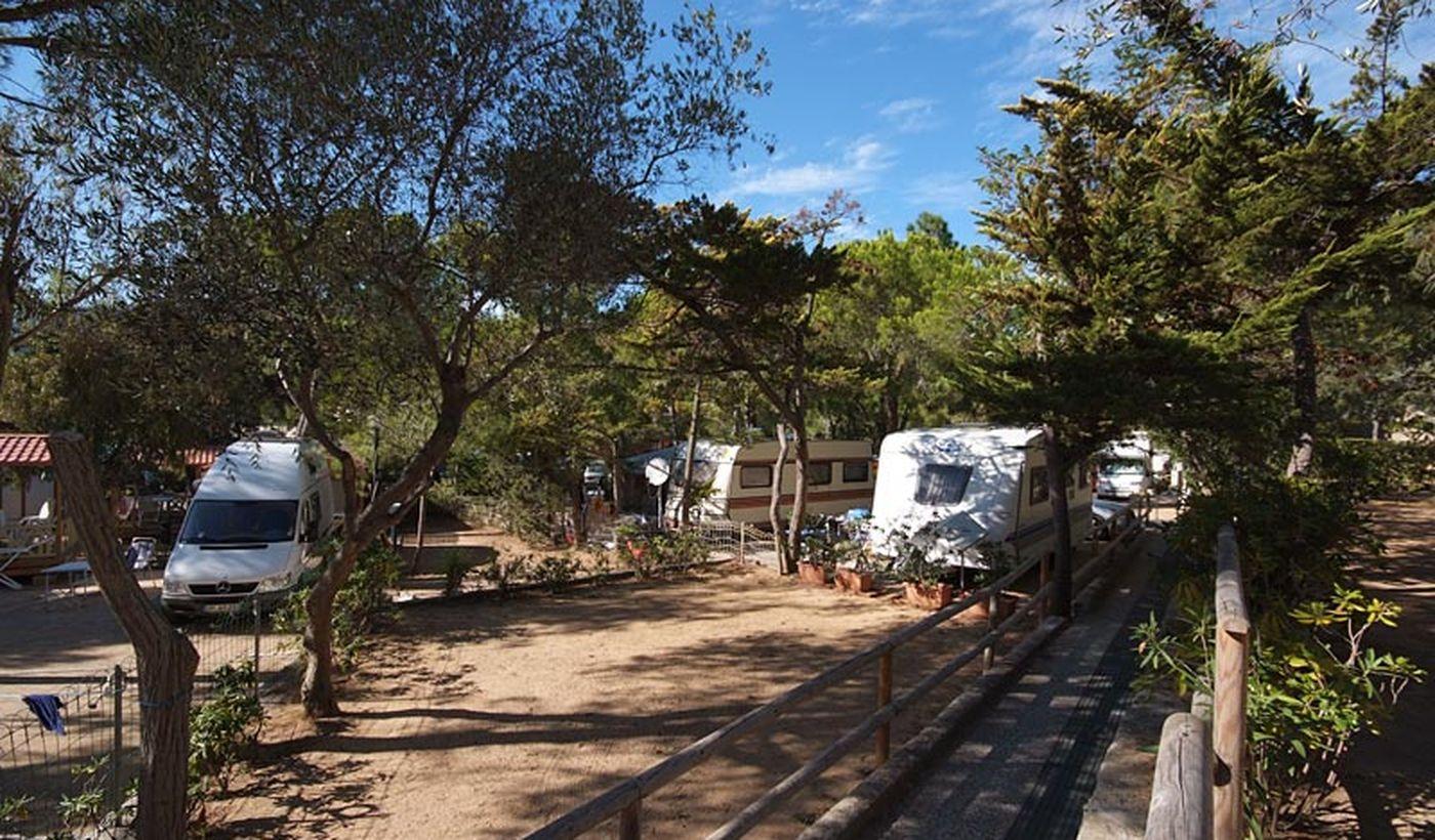 Camping für Familien in Marina di Campo, Toskana