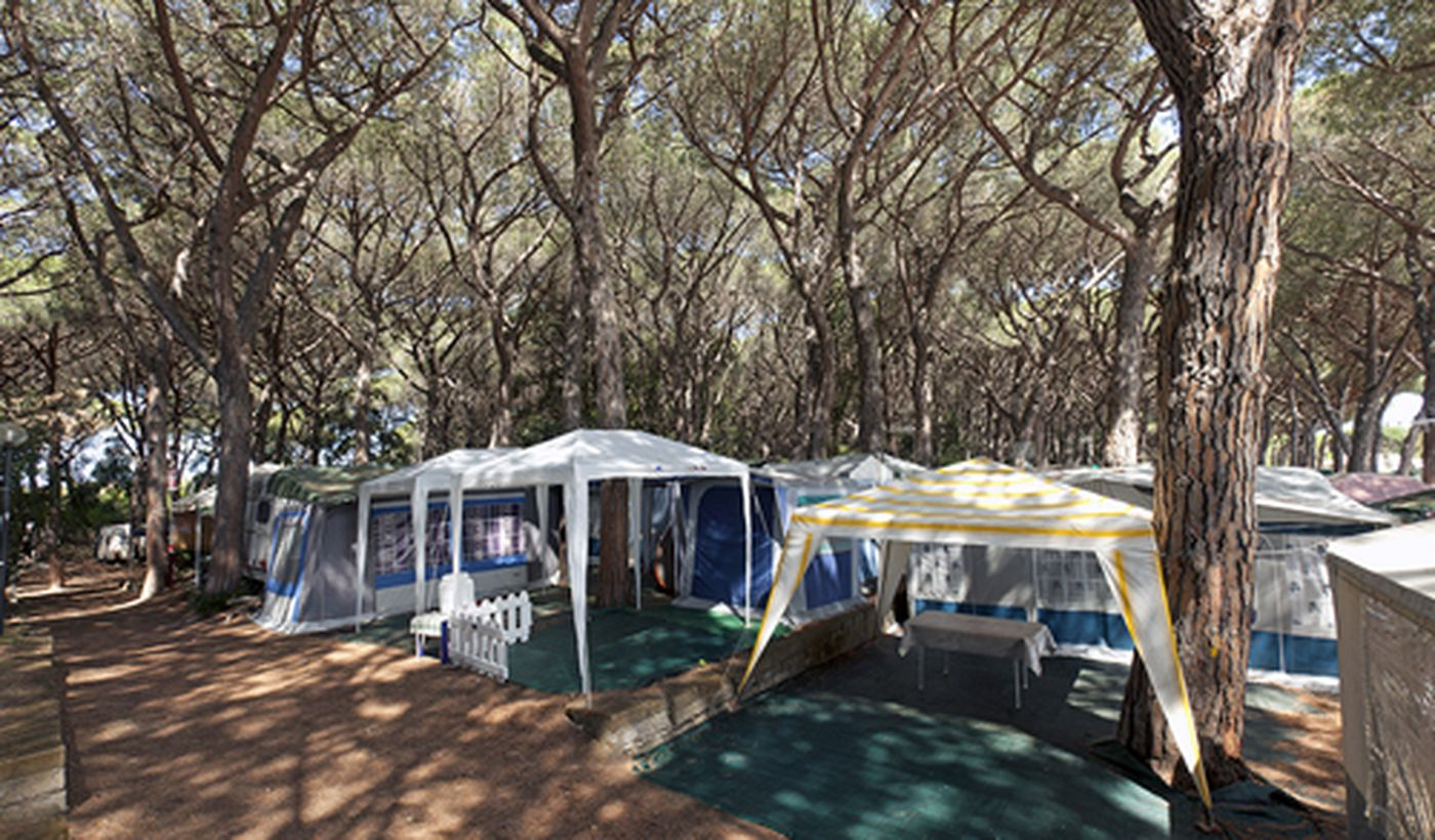 Camping a Orbetello, Toscana