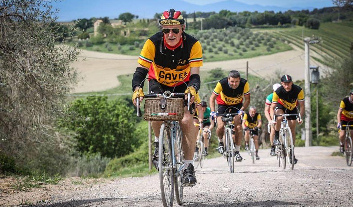 l'Eroica - la manifestazione ciclistica vintage più famosa nel mondo