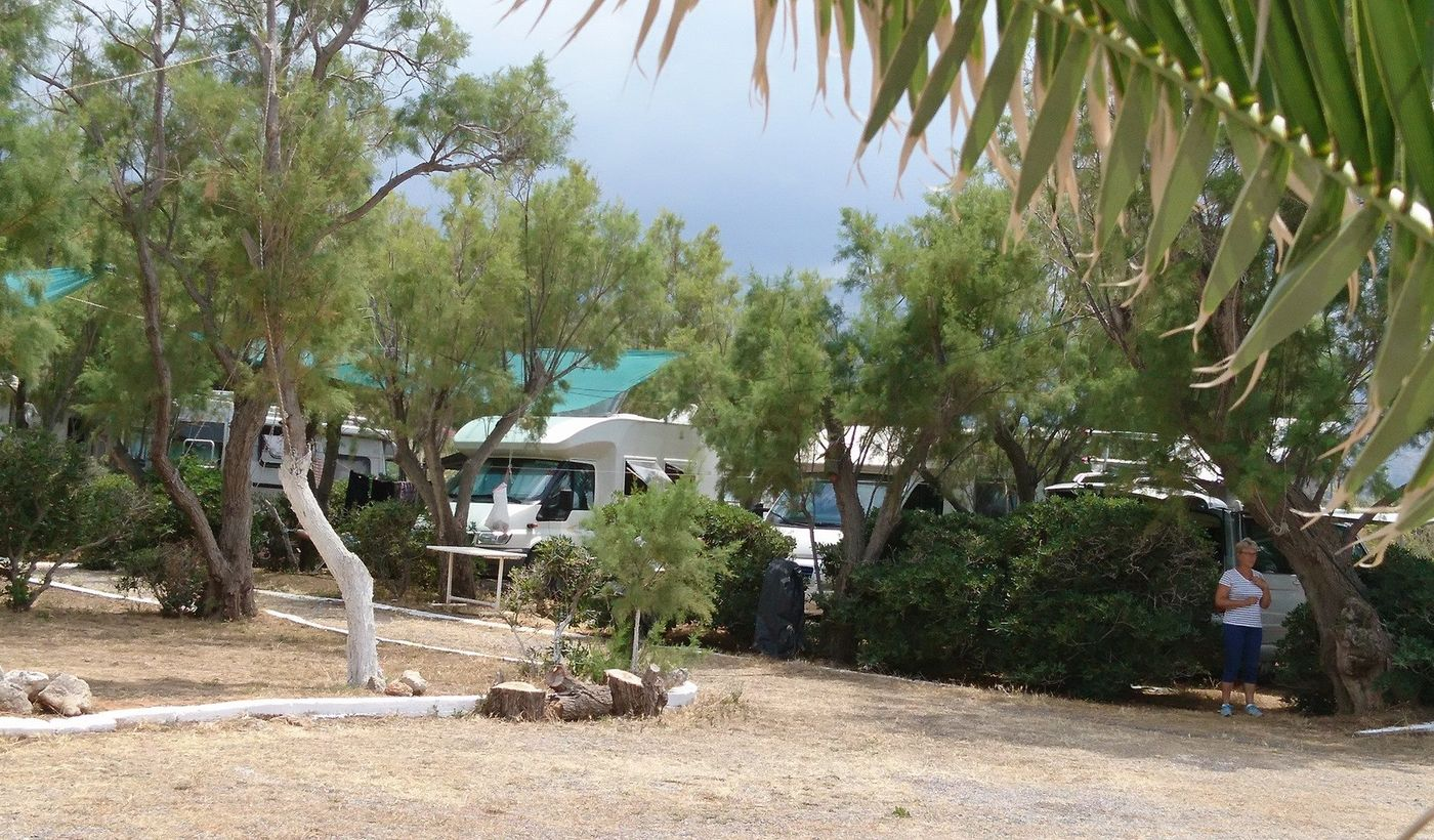 Camper nel Camping Sisi