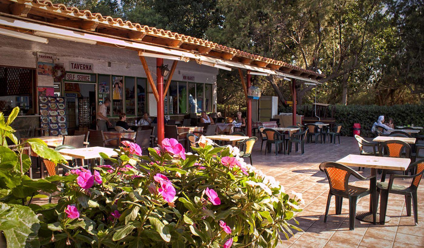 Bar del camping Nopigia