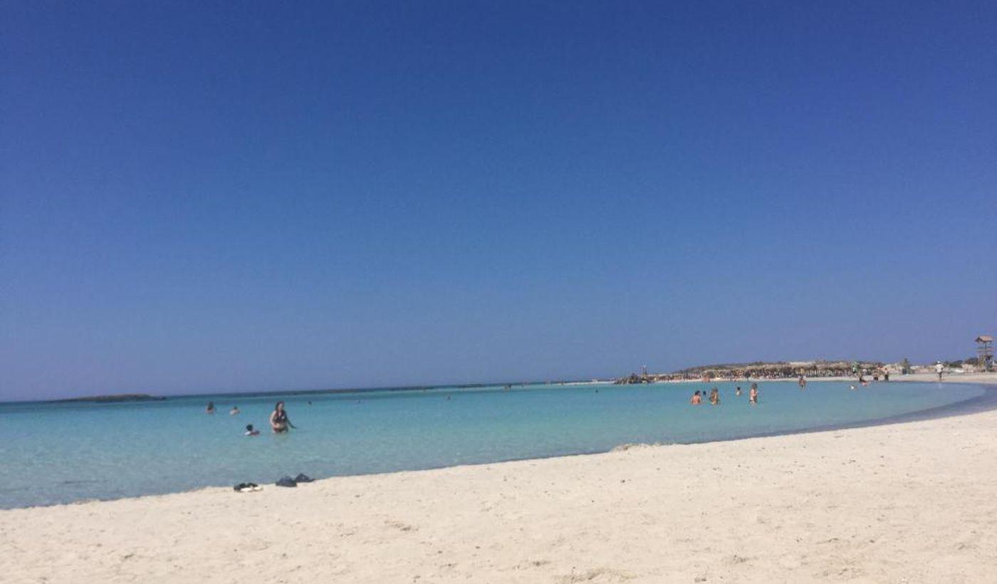 Spiaggia del camping Nopigia