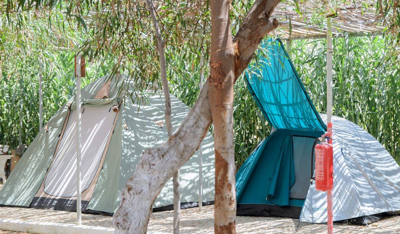 Aegiali Camping