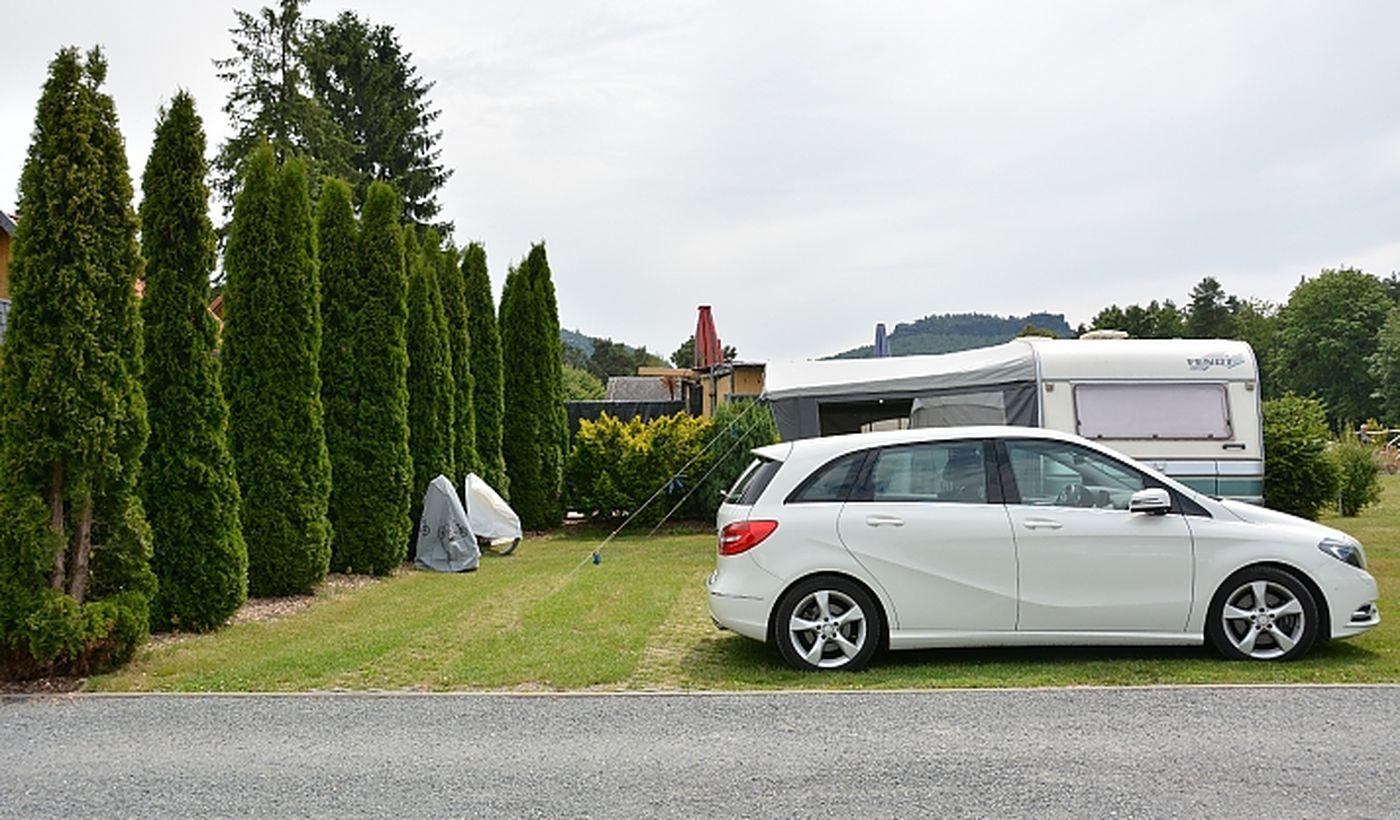 Caravan Camping 'Sächsische Schweiz