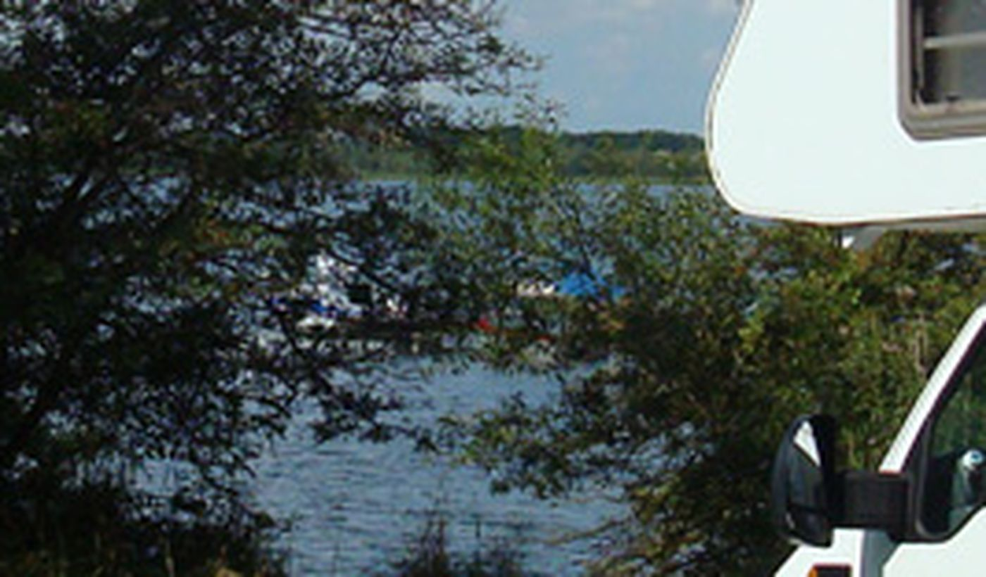 Camping am See Alt Schwerin