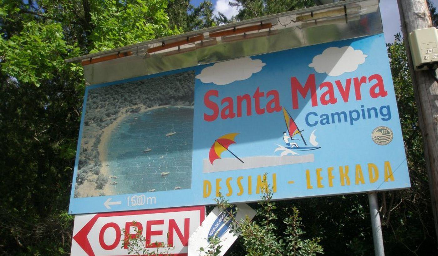 Beach Camping Santa Maura
