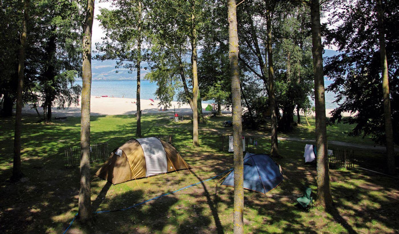 Camping de la Menthue