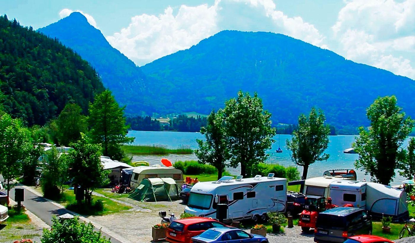 Camping Berau am Wolfgangsee