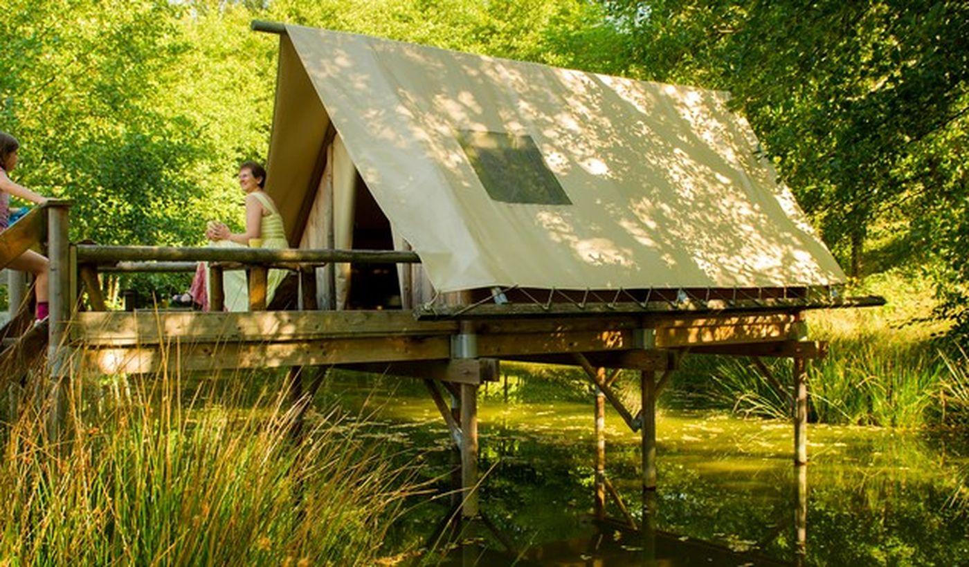 Camping Sites et Paysages Etang de la Fougeraie