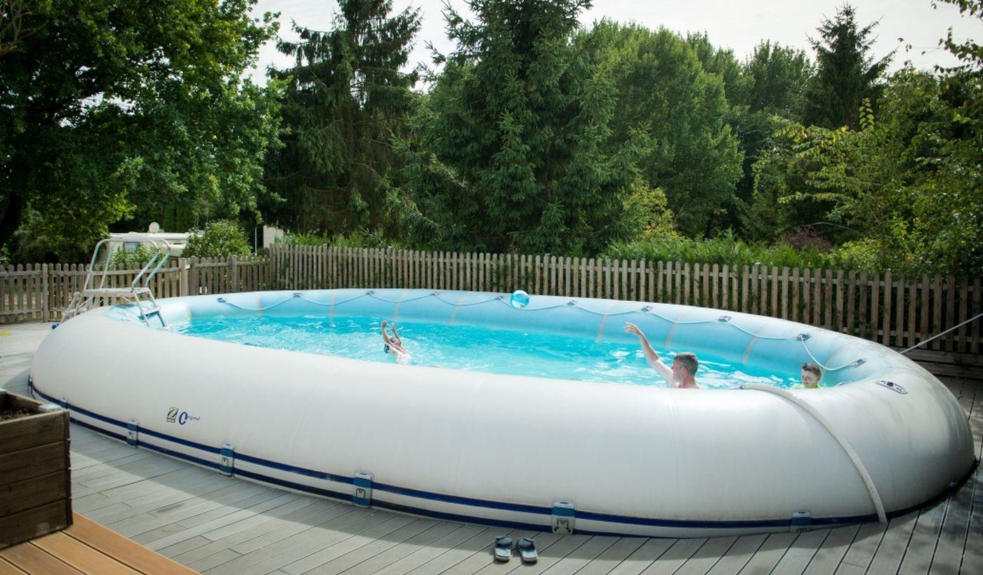 La piscine du Camping De La Trye