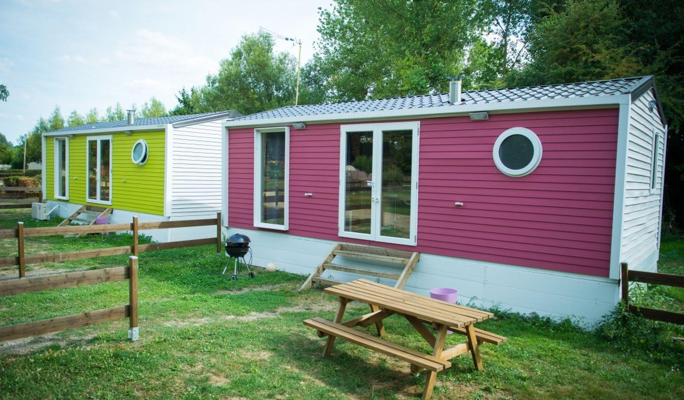 Location de mobilhomes et de chalets - Camping De La Trye