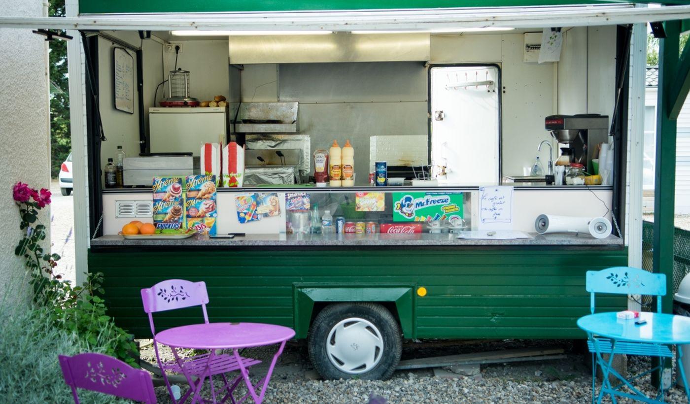 Snack bar - Camping De La Trye