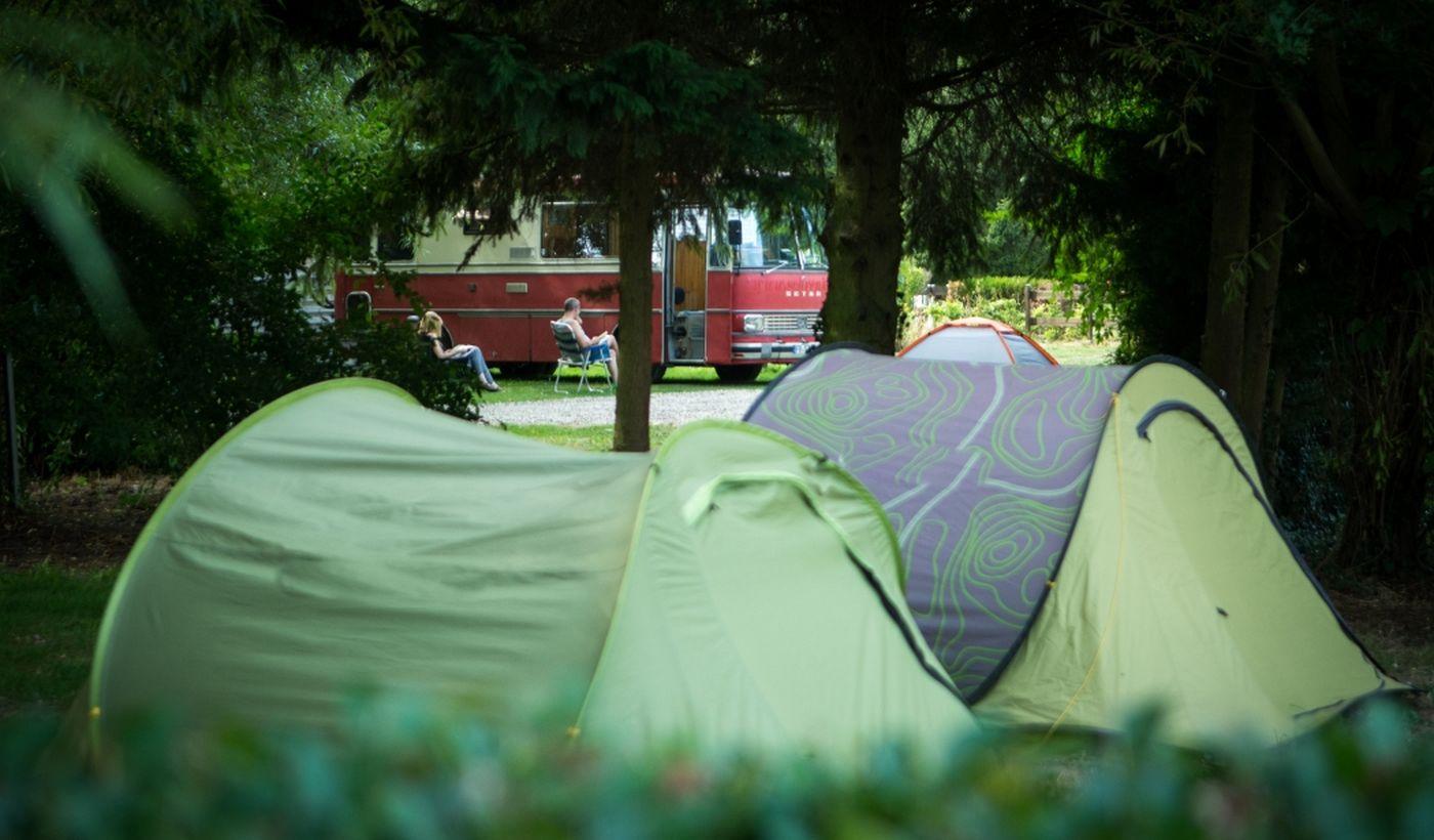 Espaces pour tentes- Camping De La Trye
