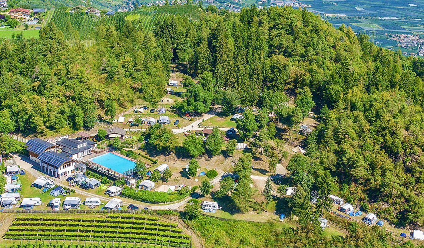 Campingplatz in Lana, Bozen
