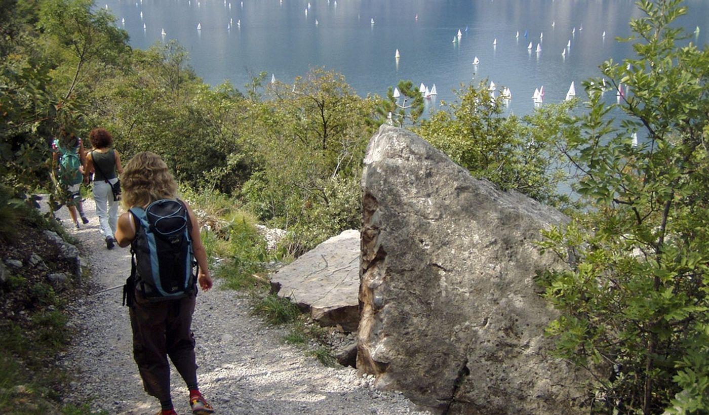 Camper Stop-Bereich in Torbole sul Garda