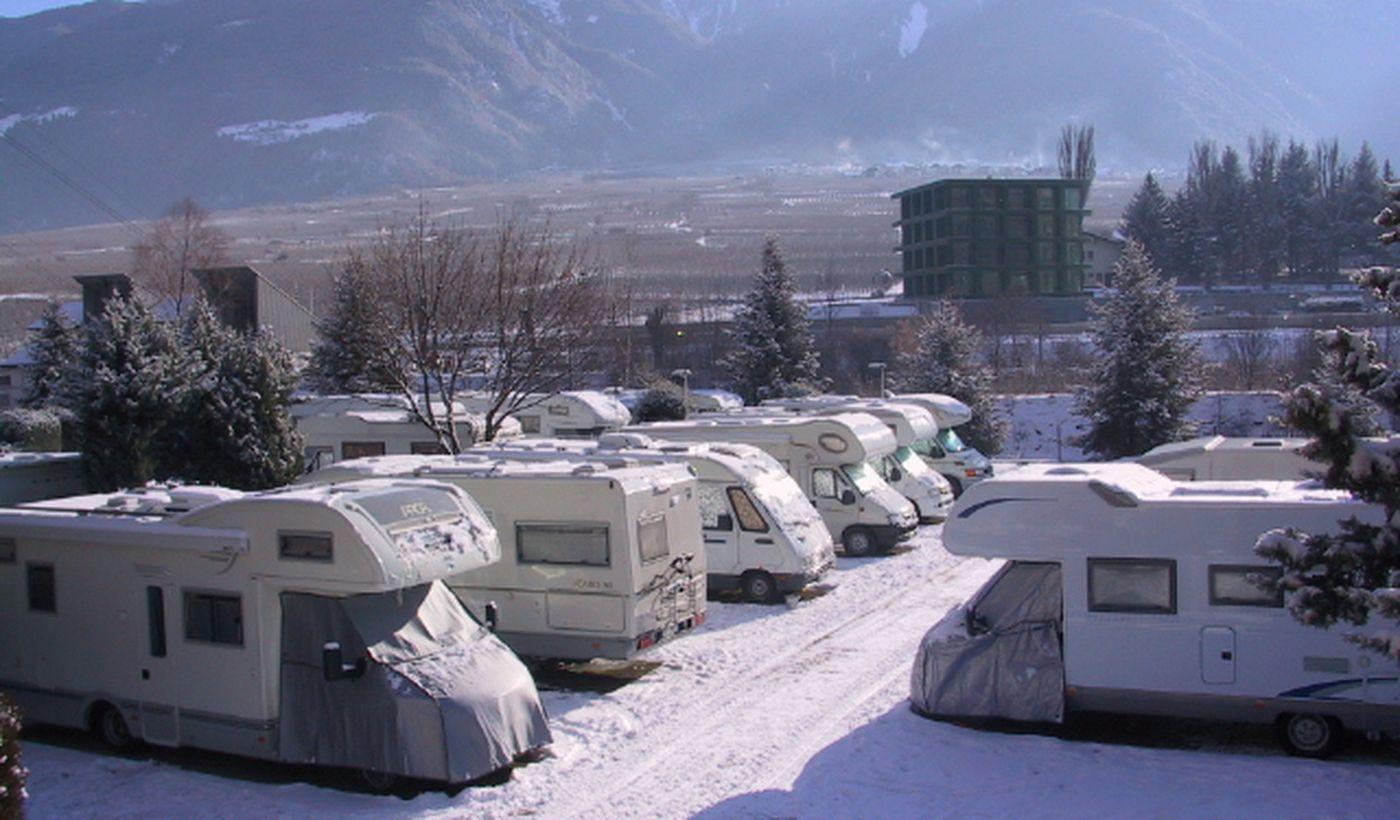 Campingplatz in Latsch, Bozen