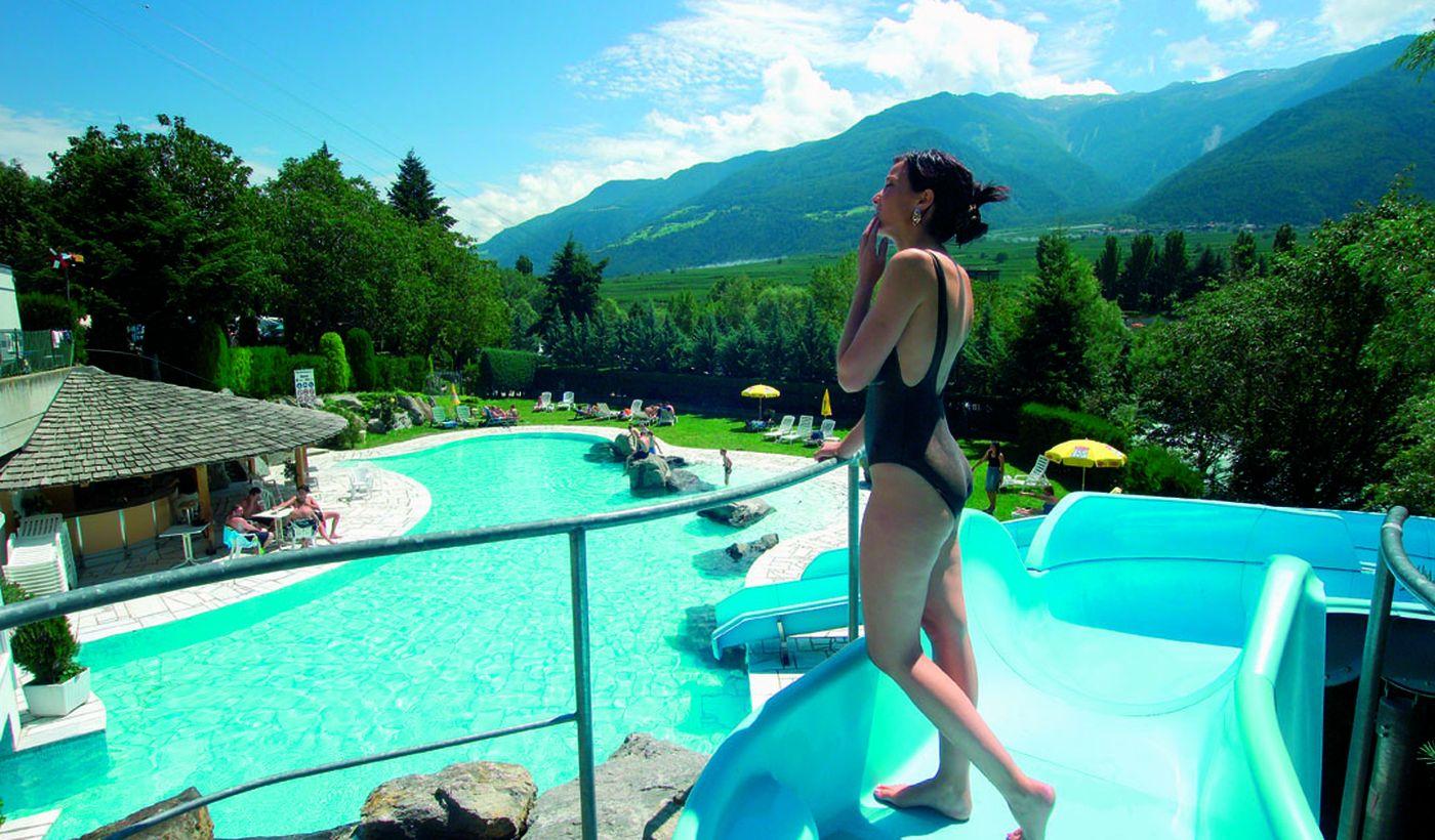 Camping mit Schwimmbad, Trentino Alto Adige