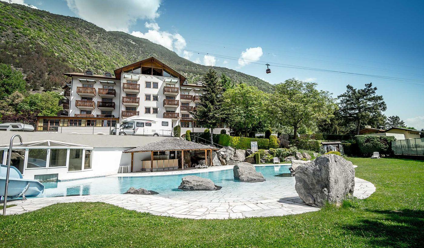 Camping Village in Latsch, Trentino-Südtirol
