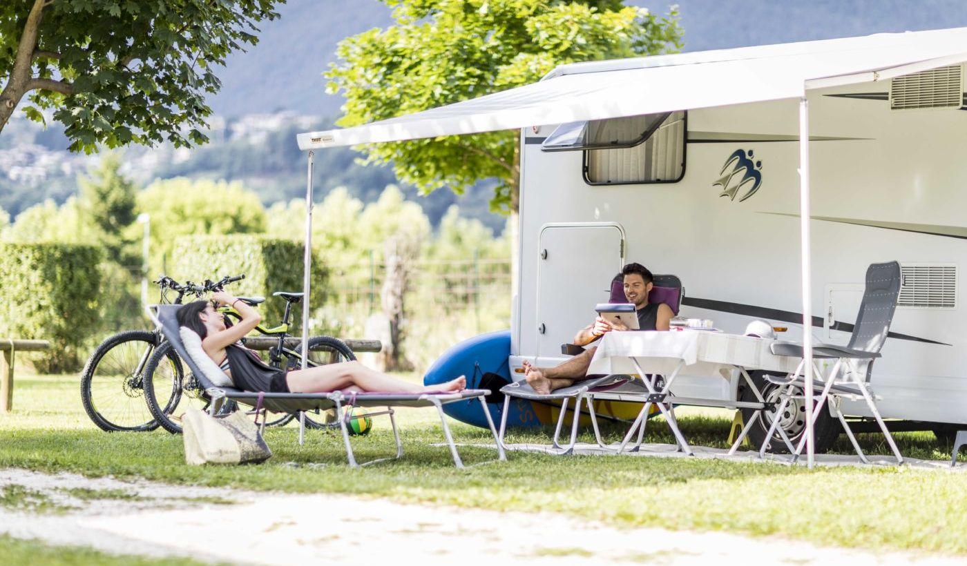 Camper Stellplätze am Caldonazzo-See