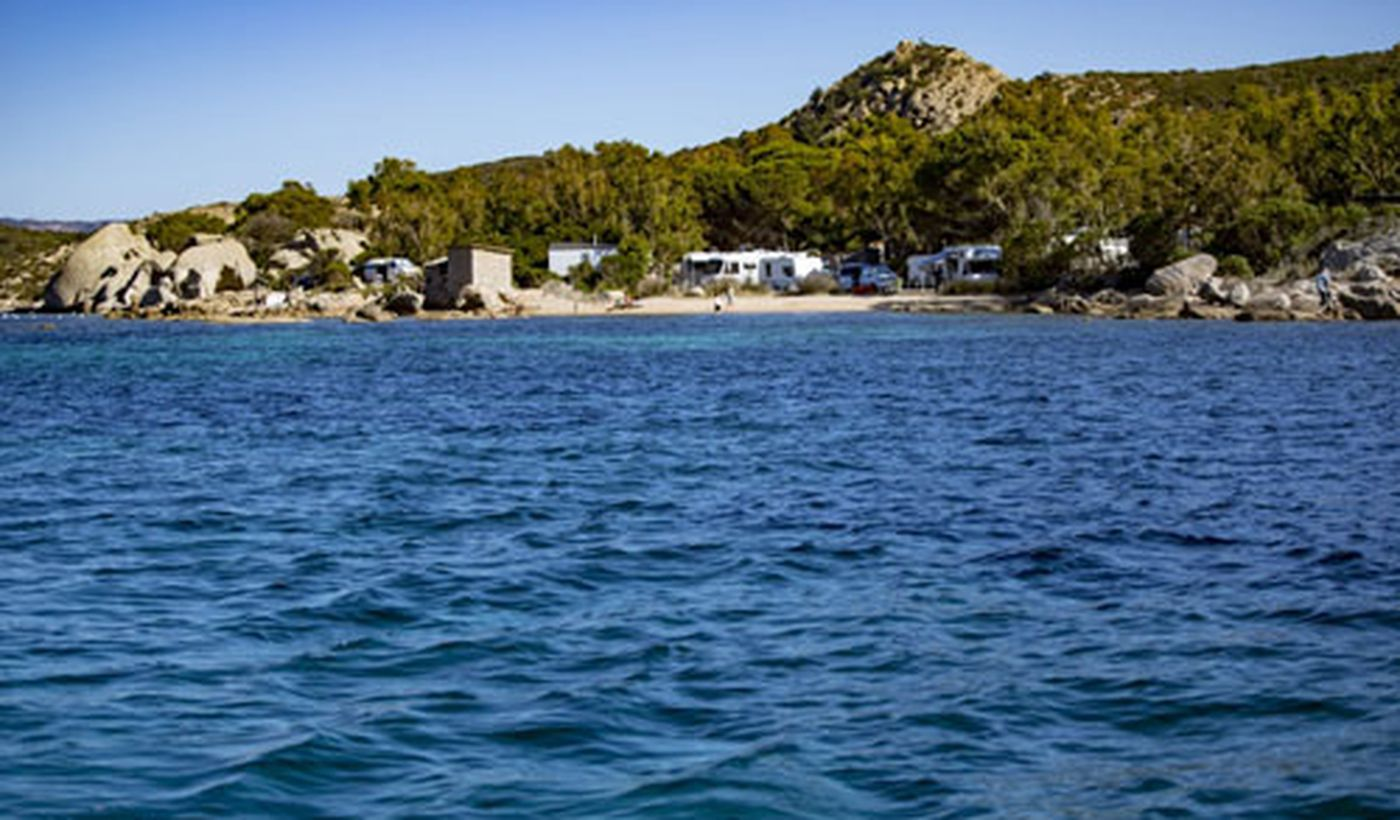 Feriendorf in Palau, Sardinien